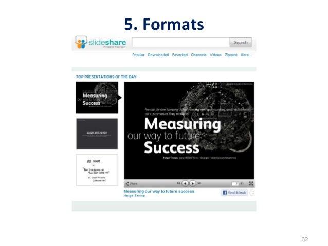 5. Formats                     32