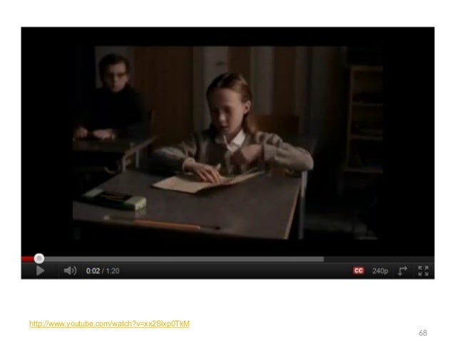 http://www.youtube.com/watch?v=xx2Slxp0TkM                                             68