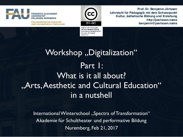 "Workshop ""Digitalization"" Part 1: 
