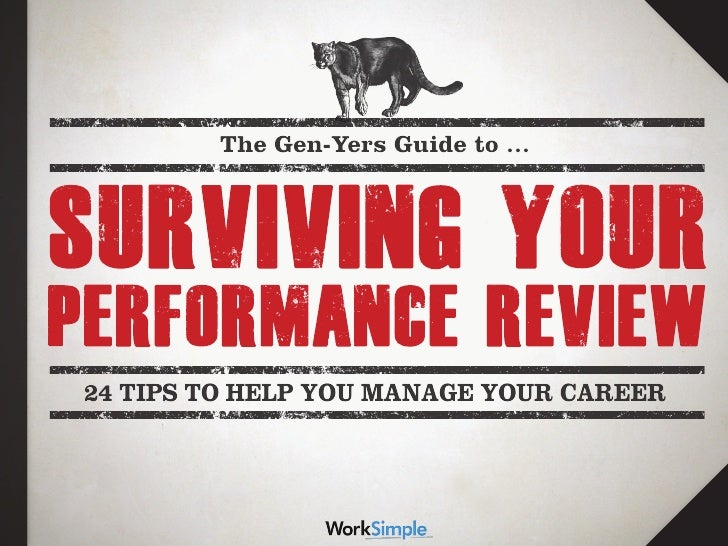 The Gen-Yers Guide to …24 TIPS TO HELP YOU MANAGE YOUR CAREER
