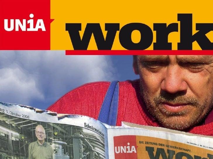 Work - Die Gewerkschaftszeitung
