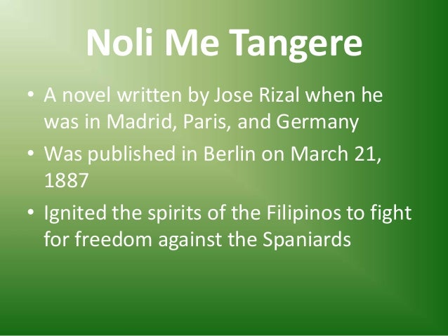 Works of Jose Rizal