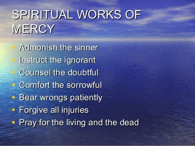 Works of mercy Dorothy Day
