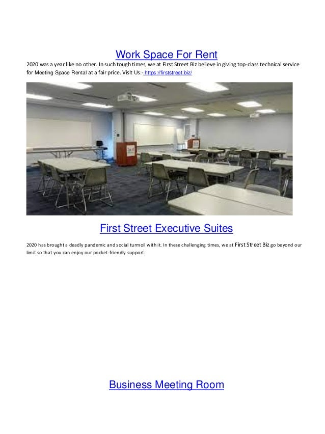 work space for rent 1 638