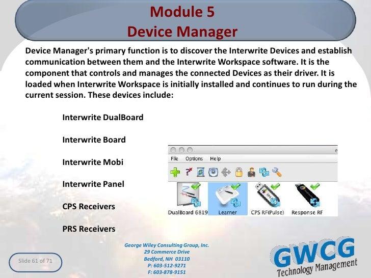 InterWrite Workspace for Mac
