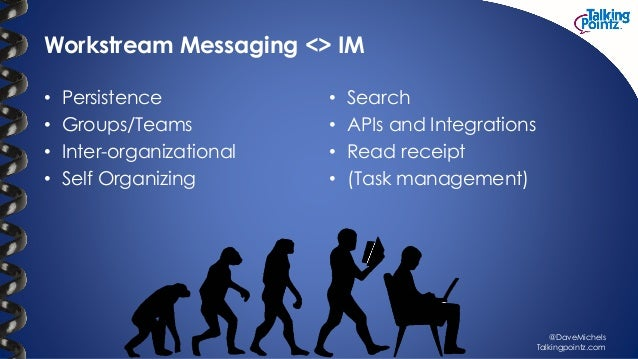 Workstream messaging bc summit2016