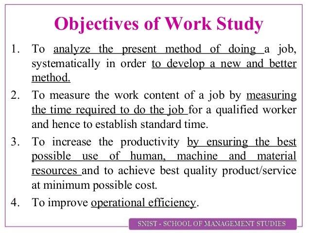 work measurement Advertisements: international labour organization(ilo) defined work measurement as 'die application of techniques designed to establish the work content of a.