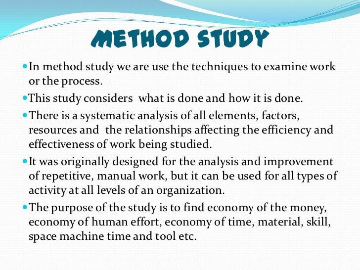Work Measurement Methods - iise.org