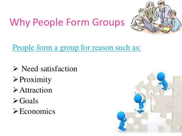 why people form groups