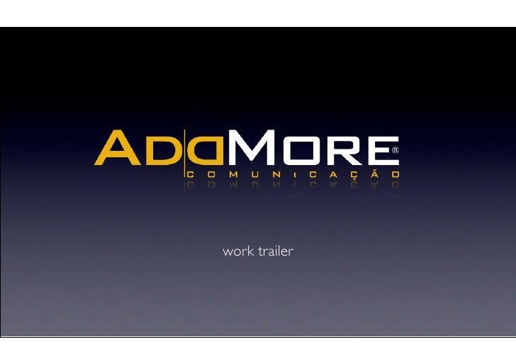 work trailer