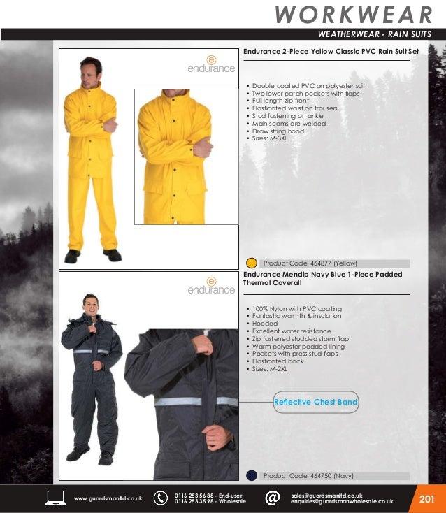 Hi Vis Rain Suit Waterproof Jacket Trouser Set Rain Coat Mesh Lining Heavy Duty