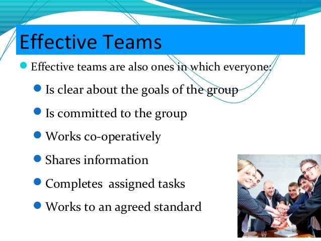 communicate clearly with team members and others making sure they have the information they need Will set the standard for team members to do what they respect for other team members beyond day effective communication & team work last.