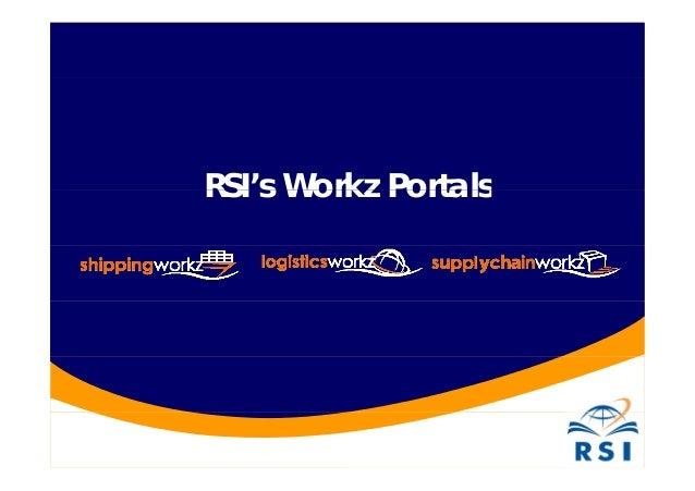 RSI's Workz PortalsRSI s Workz Portals