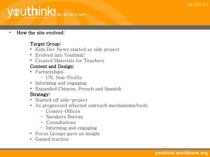 <ul><li>How the site evolved: </li></ul><ul><li>Target Group: </li></ul><ul><ul><ul><li>Kids Dev News started as side proj...