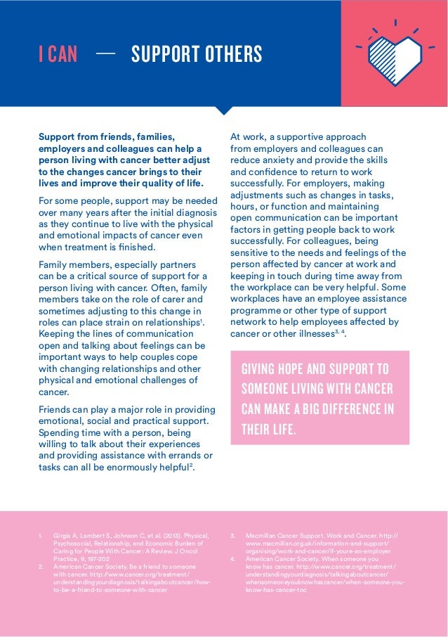 world cancer day 2016 key messages