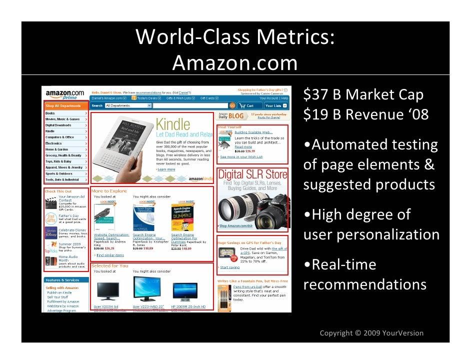 World-Class Web Metrics by Dan Olsen Slide 2
