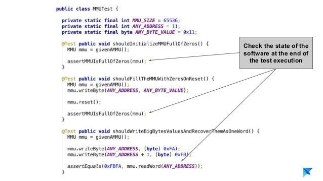 Pedro V. Gómez Sánchez - pedro@karumi.com - @pedro_g_s - github.com/pedrovgs Check the state of the software at the end of...