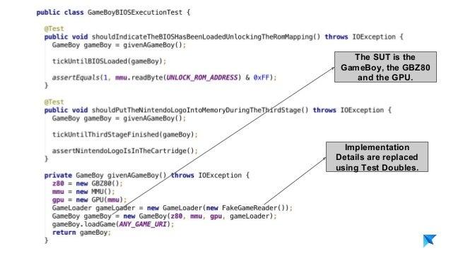 Pedro V. Gómez Sánchez - pedro@karumi.com - @pedro_g_s - github.com/pedrovgs Implementation Details are replaced using Tes...