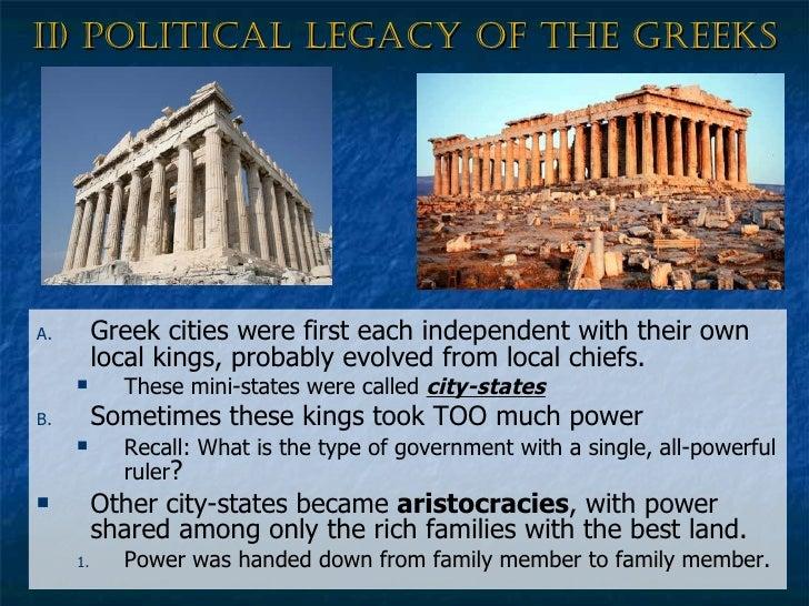 greek legacy definition