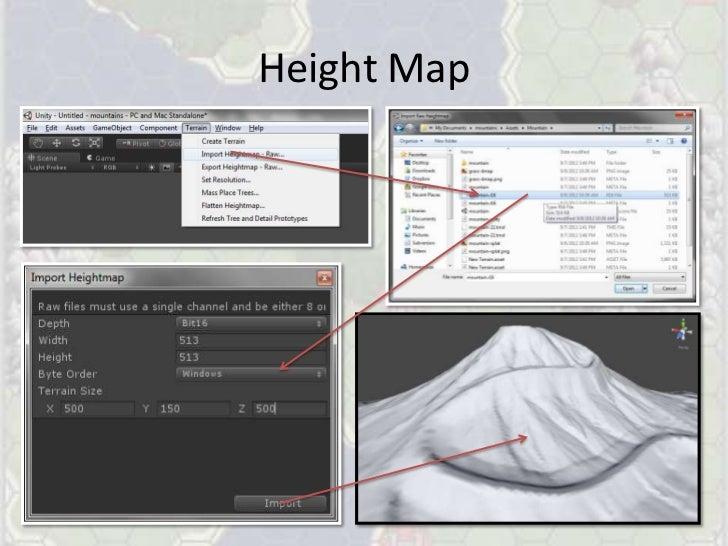 Generating Complex Terrains for Unity3D