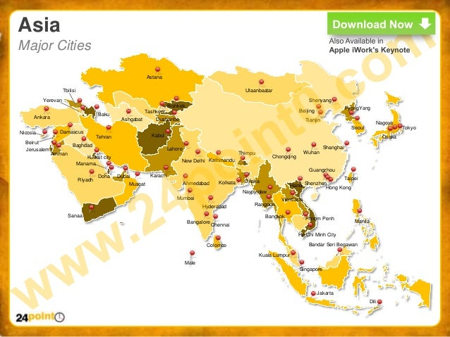 World Map PPT Easy to Edit PowerPoint World Map