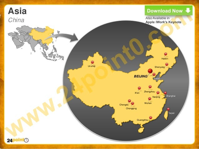 World map ppt easy to edit powerpoint world map 21 asia china harbin gumiabroncs Image collections