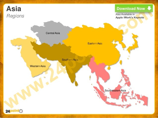 World map ppt easy to edit powerpoint world map asia regions central gumiabroncs