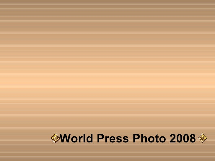World Press Photo 2008