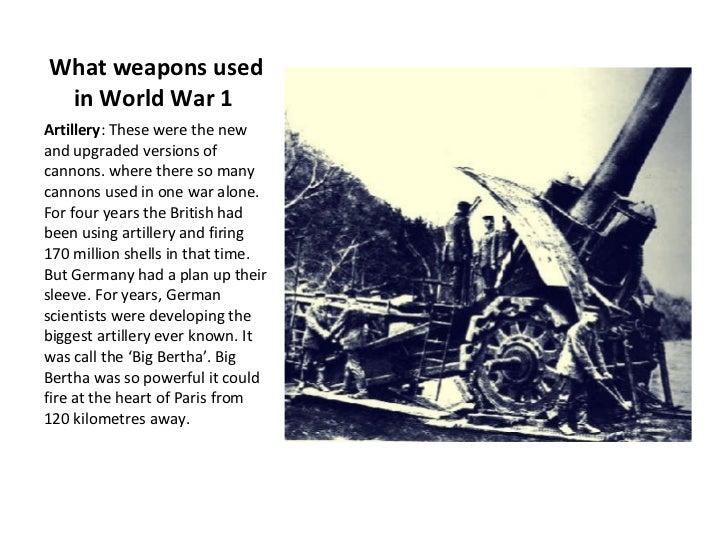 World War 1 Technology