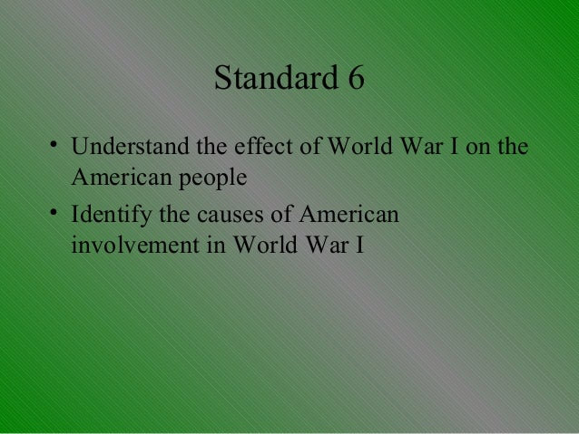americas involvement in ww1 essay Ib history of the americas paper 3  • involvement and participation of either anada or one latin american country in the first world war: reasons for.