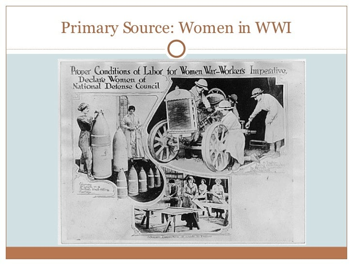 an examination of the roles of women in world war i Home » the role of british women » women in world war two women in world war two citation: c n trueman women in world war two history learning site home.