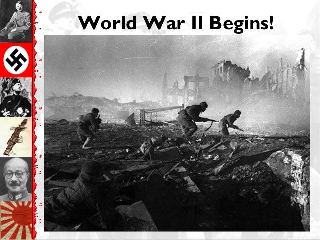 World War II Begins!