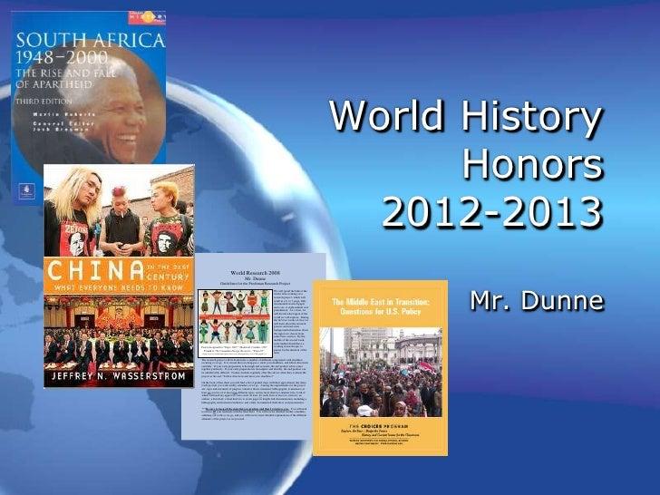 World History                                                                                                             ...