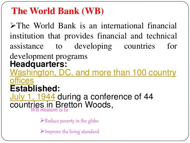 PPT On World bank Slide 2