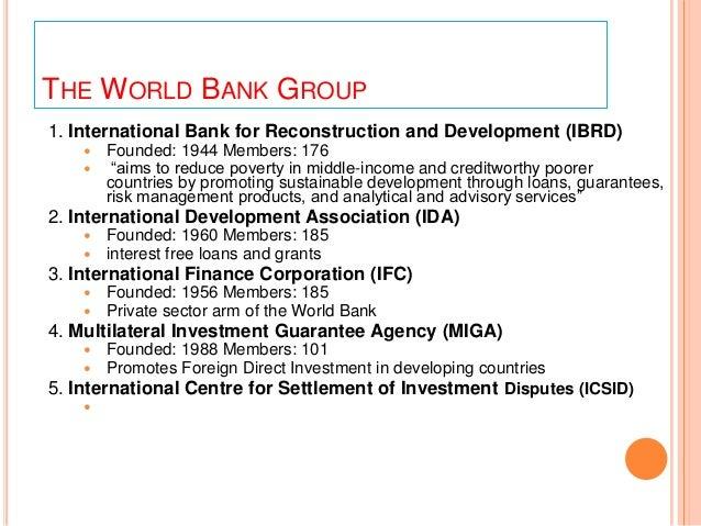 similarities between imf and world bank