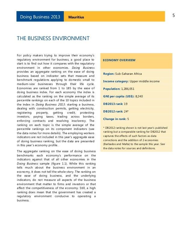 smeda mauritius business plan
