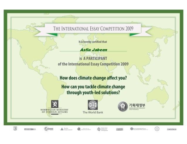 essay contest world bank