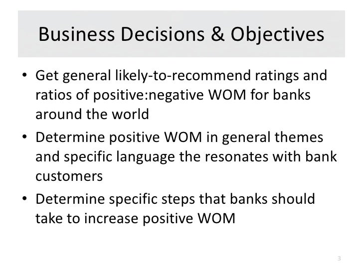 Driving Positive Word of Mouth Among Banking Customers Slide 3