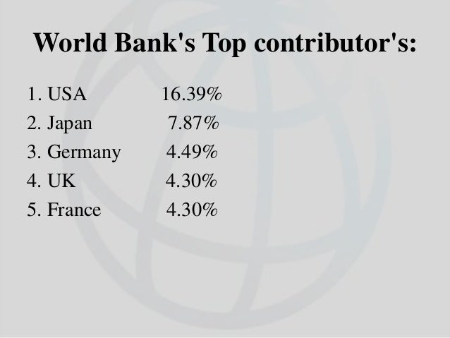 India and World Bank  India was one of the 17 countries which met in Atlantic City, USA in June 1944 to prepare the agend...