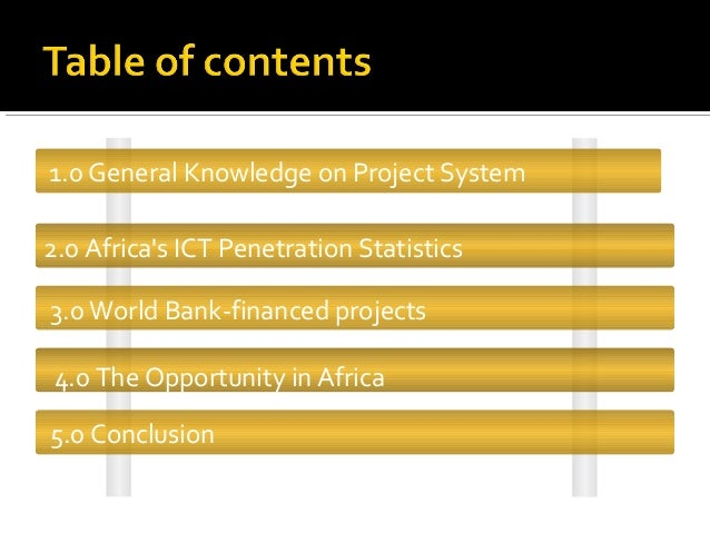 world bank case study Learned in ict sector innovation: a case study of israel authors the world bank concerning the legal status of any territory or the endorsement or acceptance of such boundaries we also thank the ict sector unit of the world bank, which commissioned this study.