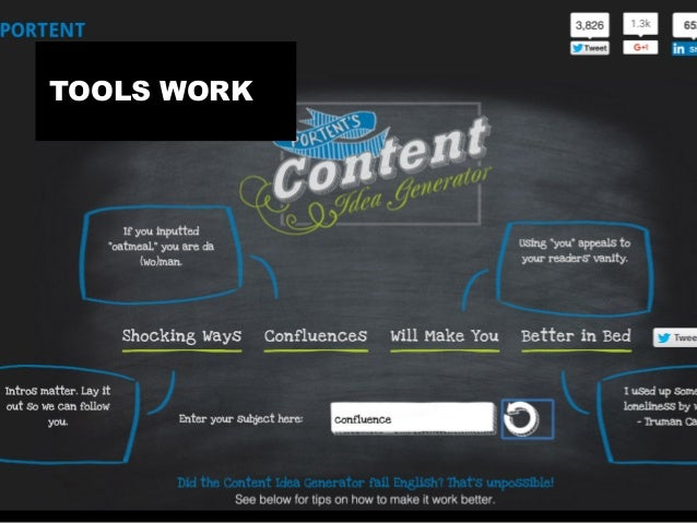 TOOLS OCCASIONA SELF PROMOTION TOOLS WORK