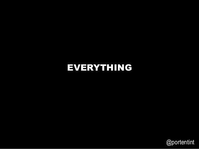 3E6699   @portentint EVERYTHING