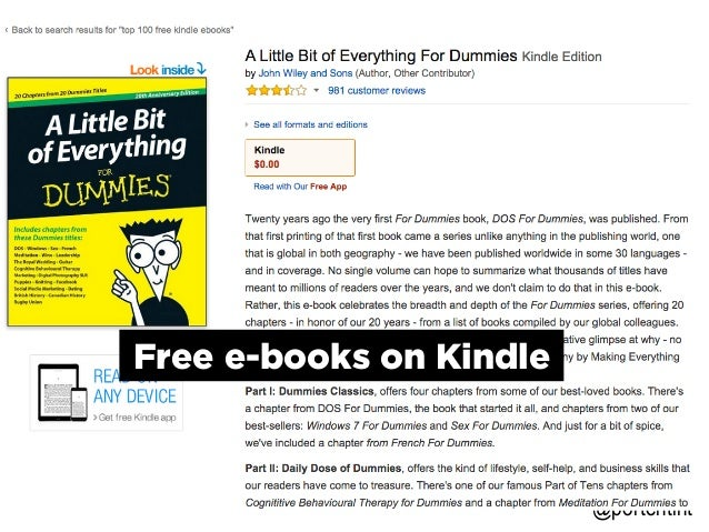 @portentint Free e-books on Kindle