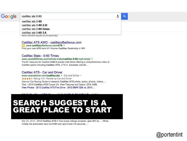@portentint SEARCH SUGGEST IS A GREAT PLACE TO START