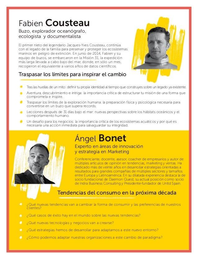 Ángel Bonet Experto en áreas de innovación y estrategia en Marketing Conferenciante, docente, asesor, coacher de empresari...