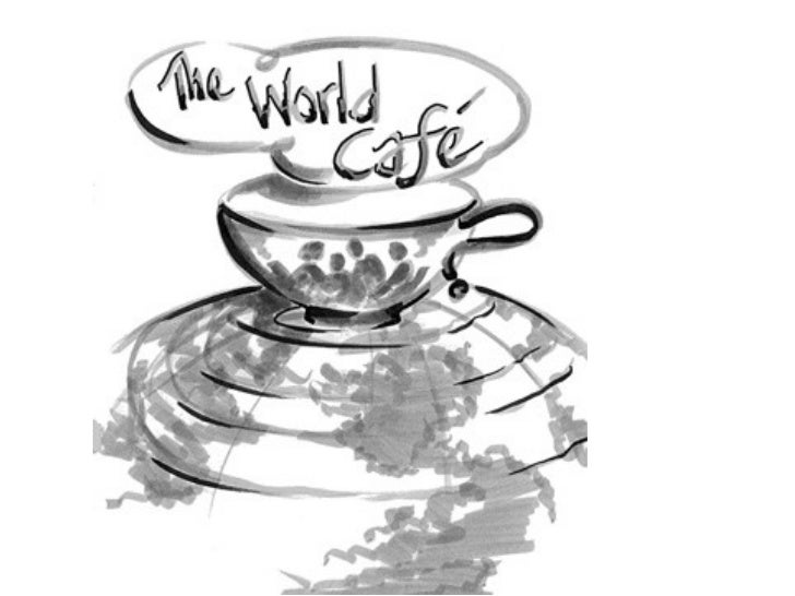 Based on text from the café to go reference guide. Authored by the World Café community.