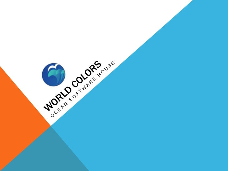 World colors <br />Ocean software house<br />