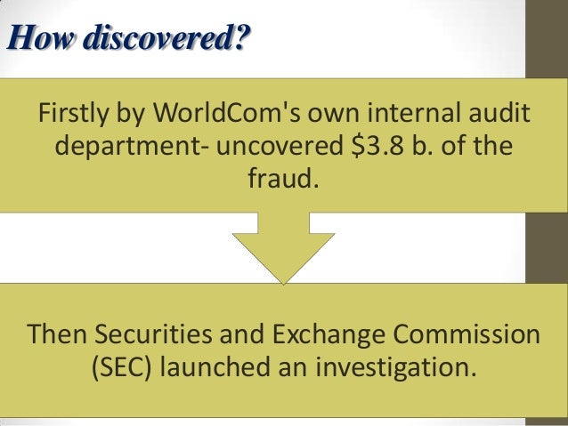 the worldcom fraud The accounting scandal enveloping worldcom inc grew out of a scheme so simple and brazen that top executives for the telecom giant should have known it would eventually collapse of its own weight .