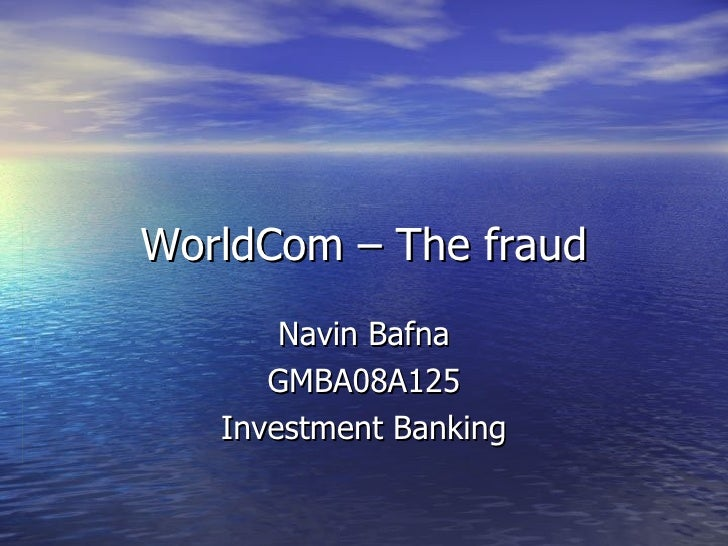 the worldcom accounting scandal Cynthia cooper helped uncover worldcom's $38 billion accounting fraud scandal, the largest corporate fraud case in history at the time most whistleblowers leave.