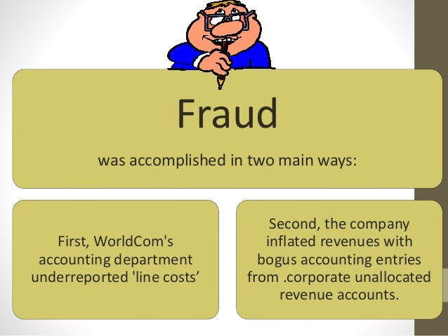 WorldCom accounting scandal